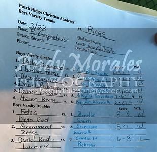 2017 boys tennis Pusch Ridge Ironwood Ridge