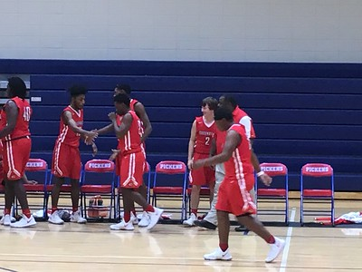 2017 Basketball GHS at Pickens