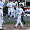 6/20/2017 Mike Orazzi | Staff<br /> Bristol Blues' Nick Roy (17) after his home run at Muzzy Field Tuesday night.