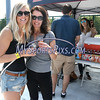 8/26/2017 Mike Orazzi | Staff<br /> Bethany Dumez and her aunt Teresa Nicholson during Beers in the Ballpark at New Britain Stadium Saturday.