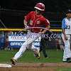 8/12/2017 Mike Orazzi | Staff<br /> New Jersey's Tai Mann (21) after his home run during the Mid-Atlantic Regional Final at the Eastern Regional Little League Tournament at Breen Field in Bristol Saturday night.