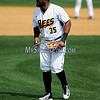 4/15/2017 Mike Orazzi | Staff<br /> New Britain Bees' Jovan Rosa (35) Saturday at New Britain Stadium.