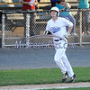 6/20/2017 Mike Orazzi   Staff<br /> Bristol Blues' Nick Roy (17) after his home run at Muzzy Field Tuesday night.