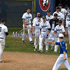 6/3/2017 Mike Orazzi | Staff<br /> St. Paul Catholic High School's Andrew Owsianko (10) after striking out in the bottom of the 7th in a 7-6 loss in the Class S Quarterfinal baseball game with Housatonic Regional Saturday in Bristol.