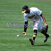 5/27/2017 Mike Orazzi | Staff<br /> New Britain Bees' Mike Crouse (10) during Saturday's game with the Southern Maryland Blue Crabs.