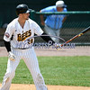 5/27/2017 Mike Orazzi | Staff<br /> New Britain Bees' Conor Bierfeldt (28) during Saturday's game with the Southern Maryland Blue Crabs.