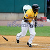8/29/2017 Mike Orazzi | Staff<br /> New Britain Bees' Jamar Walton (6) during Tuesday's game with the Sugar Land Skeeters.