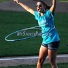 6/20/2017 Mike Orazzi   Staff<br /> Siena Stickney after winning the Hula Hoop competition during Tuesday night's Bristol Blues baseball game at Muzzy Field.
