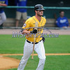 8/29/2017 Mike Orazzi | Staff<br /> New Britain Bees' Jon Griffin (33) during Tuesday's game with the Sugar Land Skeeters.