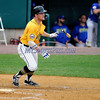 8/29/2017 Mike Orazzi | Staff<br /> New Britain Bees' Conor Bierfeldt (28) during Tuesday's game with the Sugar Land Skeeters.