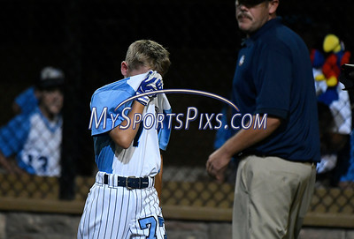 8/12/2017 Mike Orazzi   Staff Maryland's Peyton Castellow (77) after a loss in the Mid-Atlantic Regional Final at the Eastern Regional Little League Tournament at Breen Field in Bristol Saturday night.