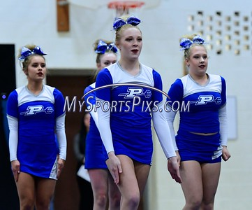 2/18/2017 CCC Cheerleading Championships at Hall High School in West Hartford.