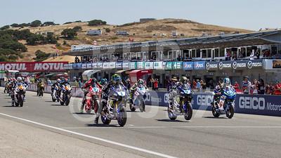 Motul FIM Superbike World Championship GEICO U.S Round at Mazda Raceway Laguna Seca