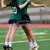 4/26/2017 Mike Orazzi | Staff<br /> Northwest Catholic's Claire Carew (20) and Madison Cote (15) at Bristol Eastern.