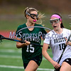 4/26/2017 Mike Orazzi | Staff<br /> Bristol lacrosse's Emily Stadnicki (10) and Northwest Catholic's Madison Cote (15) at Bristol Eastern.