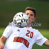 9/14/2017 Mike Orazzi | Staff<br /> Terryville's Kyle Miranda (20) during boys soccer in Plymouth Thursday.