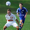 9/14/2017 Mike Orazzi | Staff<br /> Terryville's Adam Pelz (13) during boys soccer in Plymouth Thursday.