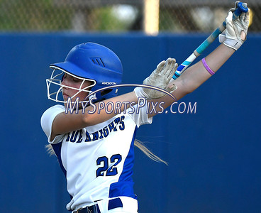 6/10/2017 Mike Orazzi | Staff Southington's Chrissy Marotto (22) during the Class LL softball final at West Haven High School Saturday night.
