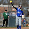 4/13/2017 Mike Orazzi | Staff<br /> Bristol Eastern's Erin Girard (13) during Thursday's softball with Northwest Catholic in Bristol.