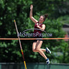 7/15/2017 Mike Orazzi | Staff<br /> Stephanie Phoenix during the pole vault at the Nutmeg Games held in Willow Brook Park in New Britain Saturday.