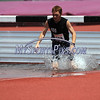 7/15/2017 Mike Orazzi | Staff<br /> Jacob Oneal in the 2000 meter steeplechase during the Nutmeg Games held in Willow Brook Park in New Britain Saturday.