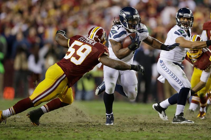 CORRECTION Seahawks Redskins Football