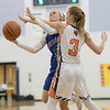 Brooke Vetter goes up for a shot