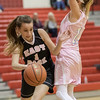 Ali Berry cuts down the baseline by Lauren Williams