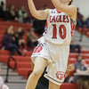 Erin Clayton comes in for a layup