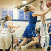 Brooke Vetter goes up for a layup