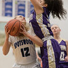 Geovanna Salvieti tries to block a shot from Merredith Vetter