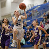 Mary-Ruth Shifflett comes in for a layup