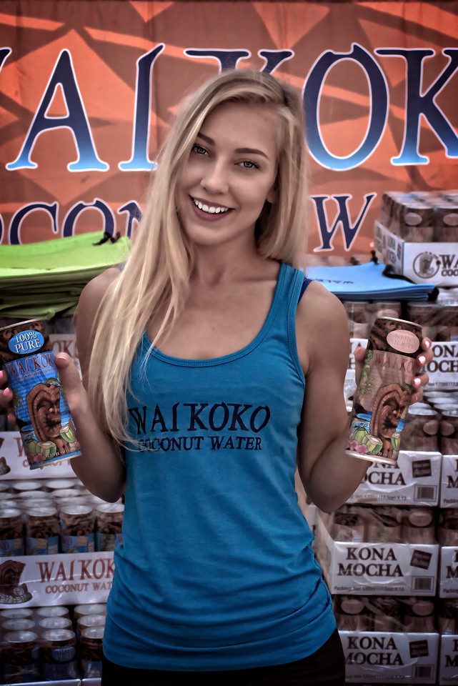 Supergirl WaiKoko Coconut water
