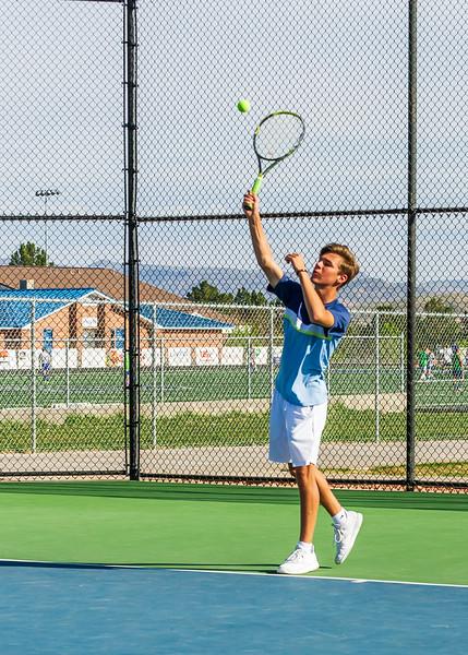 2018-04-05 Dixie HS Tennis vs Pineview_0408