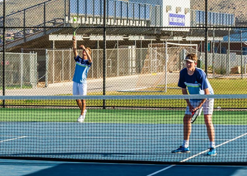 2018-04-05 Dixie HS Tennis vs Pineview_0476