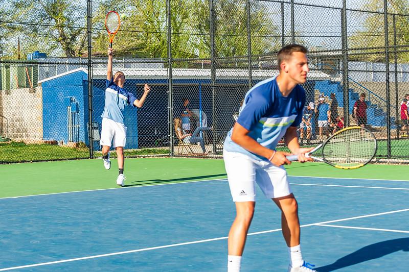 2018-04-05 Dixie HS Tennis vs Pineview_0601