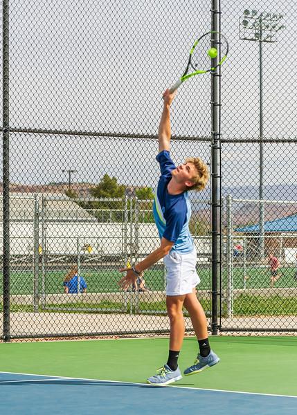 2018-04-05 Dixie HS Tennis vs Pineview_0048