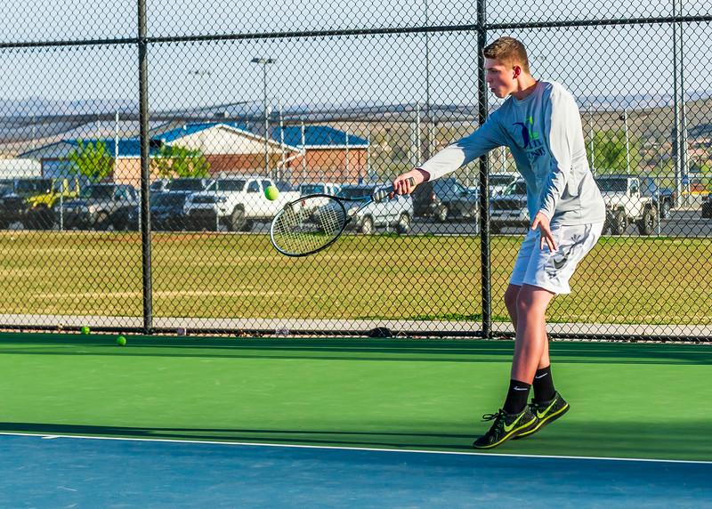 2018-04-05 Dixie HS Tennis vs Pineview_0765