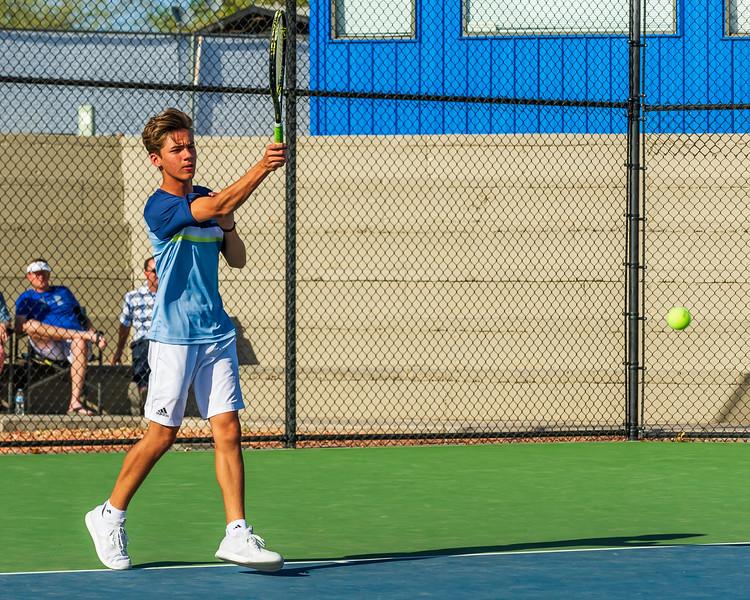 2018-04-05 Dixie HS Tennis vs Pineview_0457
