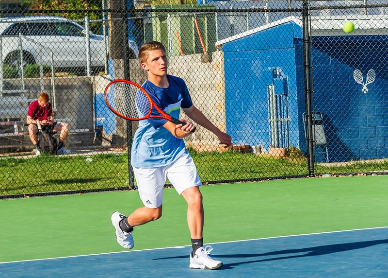 2018-04-05 Dixie HS Tennis vs Pineview_0613