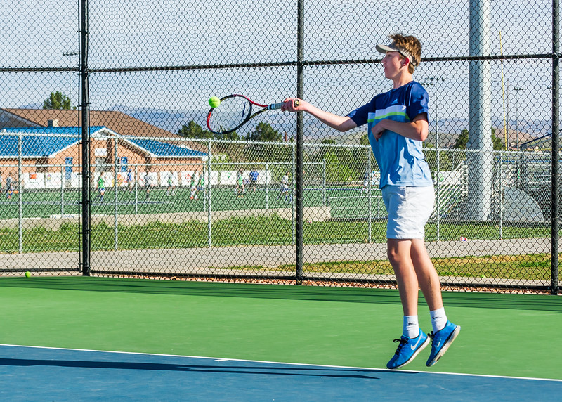 2018-04-05 Dixie HS Tennis vs Pineview_0381