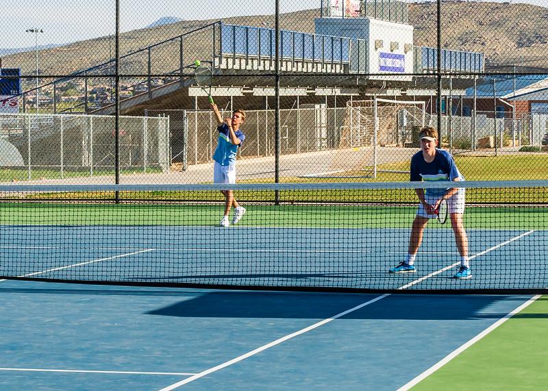2018-04-05 Dixie HS Tennis vs Pineview_0467