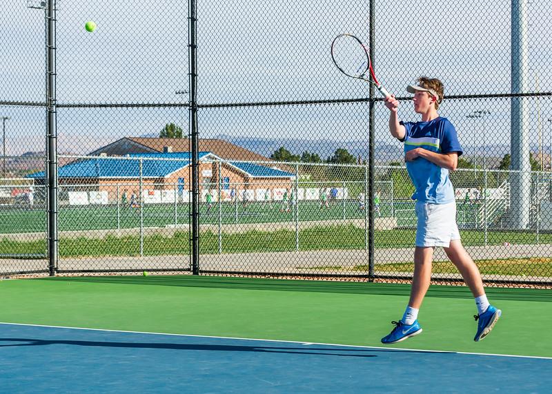 2018-04-05 Dixie HS Tennis vs Pineview_0382