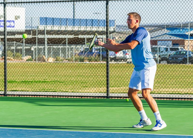 2018-04-05 Dixie HS Tennis vs Pineview_0513