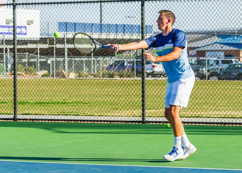 2018-04-05 Dixie HS Tennis vs Pineview_0514
