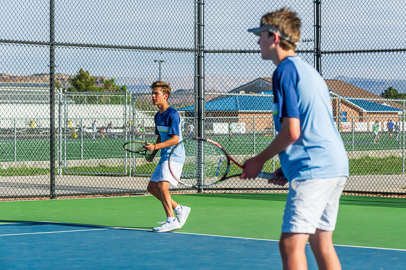 2018-04-05 Dixie HS Tennis vs Pineview_0377