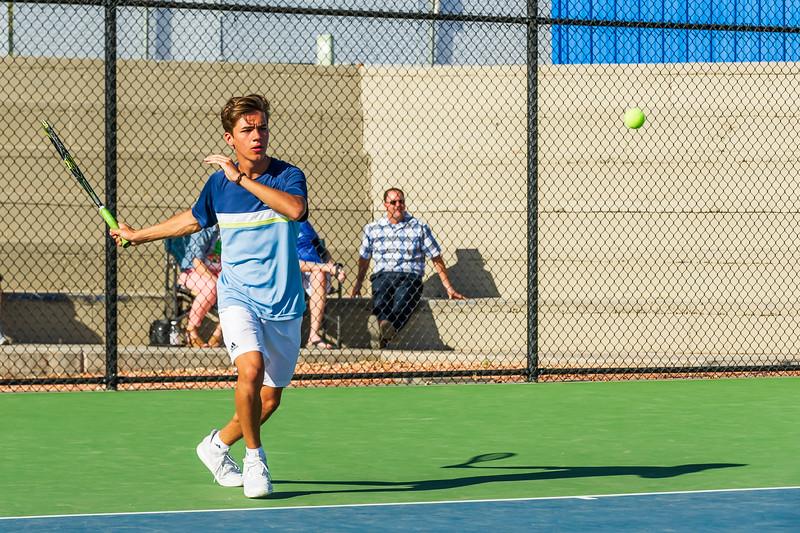 2018-04-05 Dixie HS Tennis vs Pineview_0453