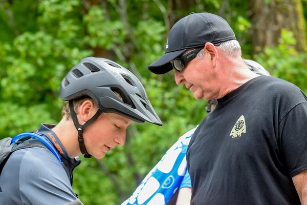 2018-06-03. Wenatchee High School Mountain Biking