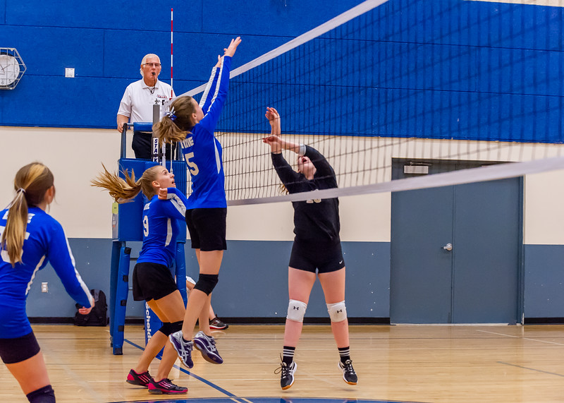 2018-09-18 Dixie HS Volleyvall vs Desert Hills_0650