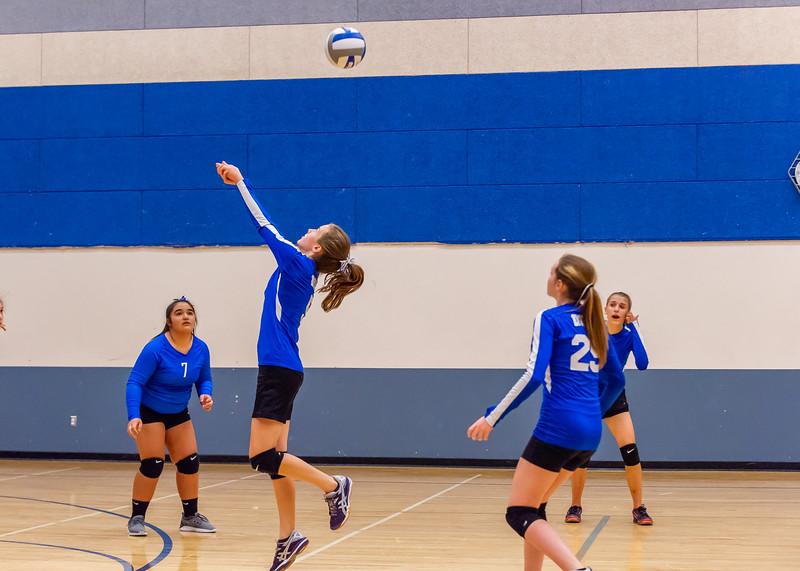 2018-09-18 Dixie HS Volleyvall vs Desert Hills_0483